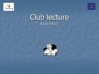 Club lecture Klub lektur