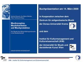 IKM – Institut für Kulturmanagement und Kulturwissenschaft