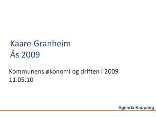 Kaare Granheim Ås 2009