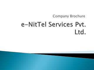 e- NitTel  Services Pvt. Ltd.