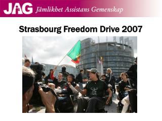 Strasbourg Freedom Drive 2007