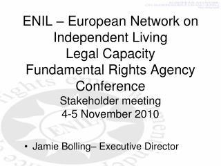 Jamie Bolling–  Executive Director