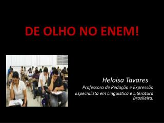 DE OLHO NO ENEM!