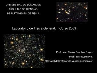UNIVERSIDAD DE LOS ANDES FACULTAD DE CIENCIAS DEPARTAMENTO DE FISICA