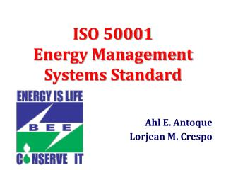 ISO 50001 Energy Management Systems Standard