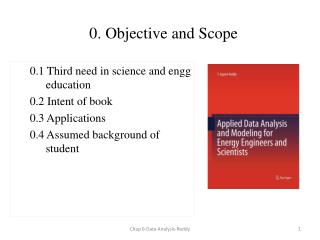 0. Objective and Scope