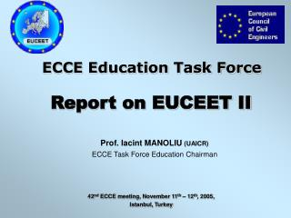 ECCE Education Task Force