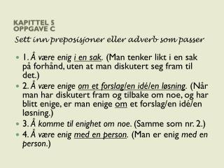 Kapittel 5 Oppgave c