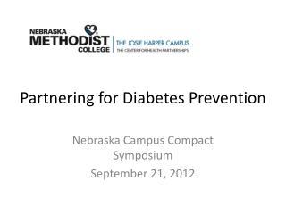 Partnering for Diabetes Prevention