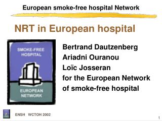 European smoke-free hospital Network