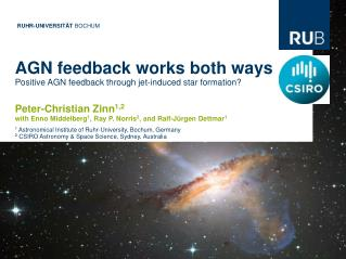 AGN feedback works both ways Positive AGN feedback through jet-induced star formation?