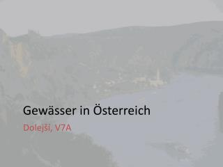 Gewässer  in  Österreich