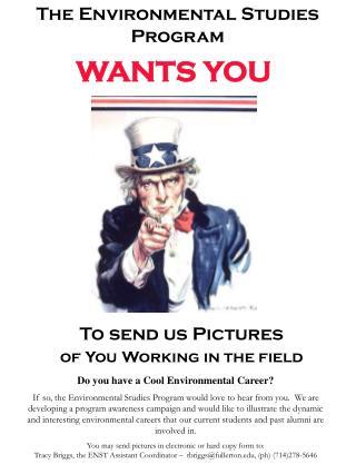 The Environmental Studies Program