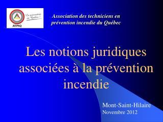 Association des techniciens en prévention incendie du Québec