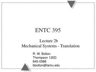 ENTC 395