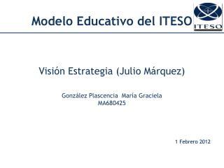 Modelo Educativo  del ITESO
