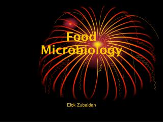 Food Microbiology Elok Zubaidah