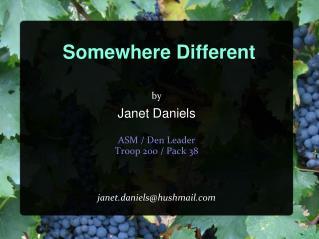 Somewhere Different