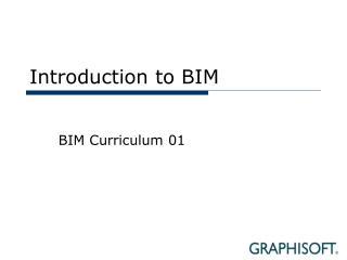 Introduction to BIM