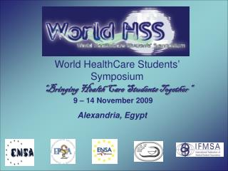 World HealthCare Students' Symposium