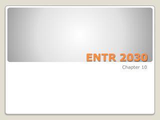 ENTR 2030