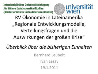 Bernhard Leubolt Ivan Lesay 19.1.2011