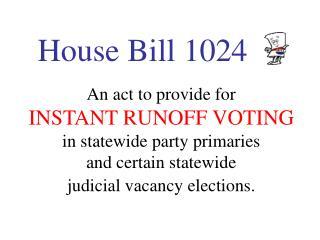House Bill 1024