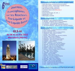 GLS - F6 du 08 au 11 mai 2012  Marrakech (Maroc)