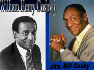 William Henry Cosby jr