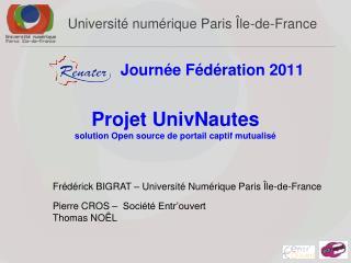 Université  numérique Paris Île-de-France