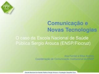 Comunicação e Novas Tecnologias