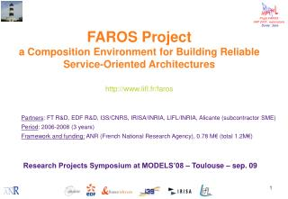 Research Projects Symposium at MODELS'08 – Toulouse – sep. 09