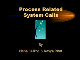 Process Related  System Calls