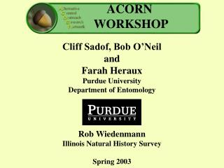 ACORN workshop