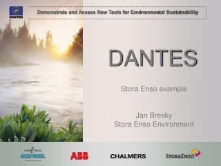 Stora Enso example Jan Bresky Stora Enso Environment