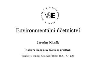 Environmentální účetnictví