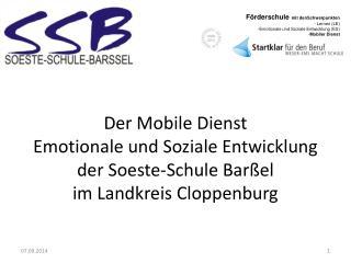 Soeste -Schule (mobiler Dienst ES)  wird um Hilfe gebeten