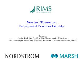 Now and Tomorrow   Employment Practices Liability