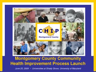 Montgomery County Community Health Improvement Process Launch