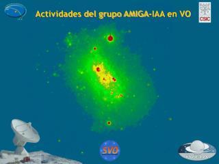 Actividades del grupo AMIGA-IAA en VO