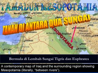Bermula di Lembah Sungai Tigris dan Euphrates