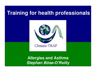 Training for health professionals