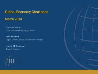 Global Economy Chartbook March 2014