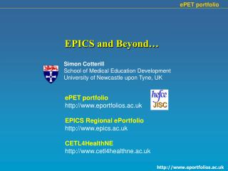 EPICS and Beyond…