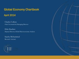 Global Economy Chartbook April 2014