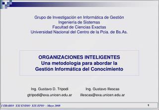 Grupo de Investigación en Informática de Gestión Ingeniería de Sistemas