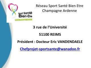 Réseau Sport Santé Bien Etre Champagne Ardenne