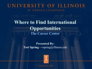 About The Career Center