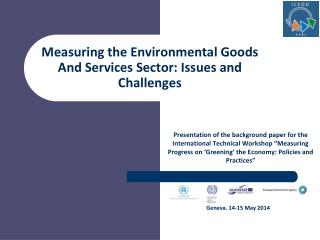 Measuring the Environmental Goods And Services Sector: Issues and Challenges