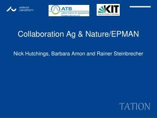 Collaboration Ag & Nature/EPMAN